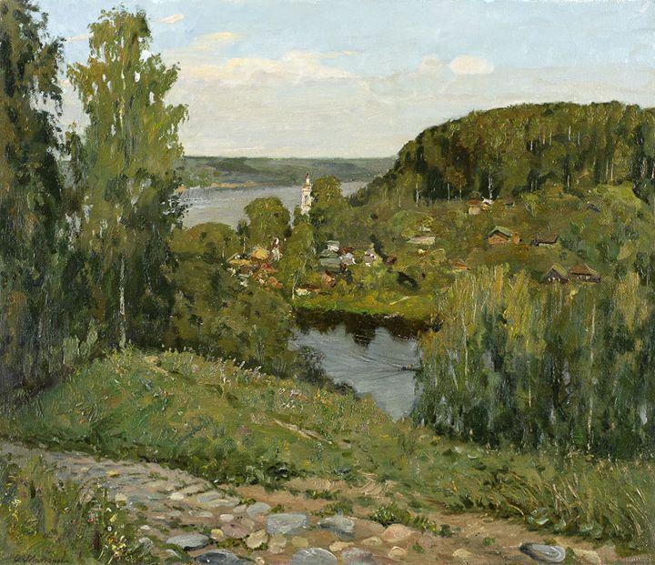 August's evening at Plios - MolchanovArt