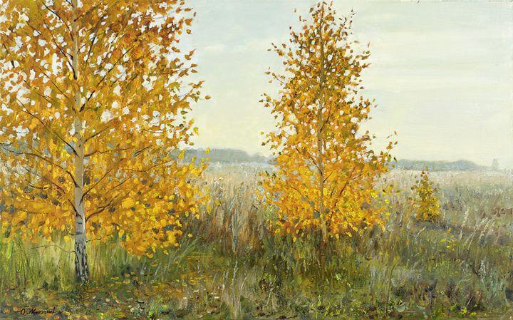 Golden Birches - MolchanovArt