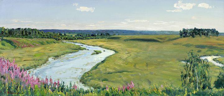 """""""River Solonnitsa"""" - MolchanovArt"""