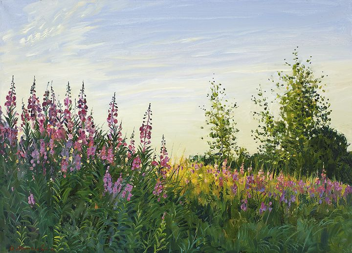 The Summer Flowers - MolchanovArt