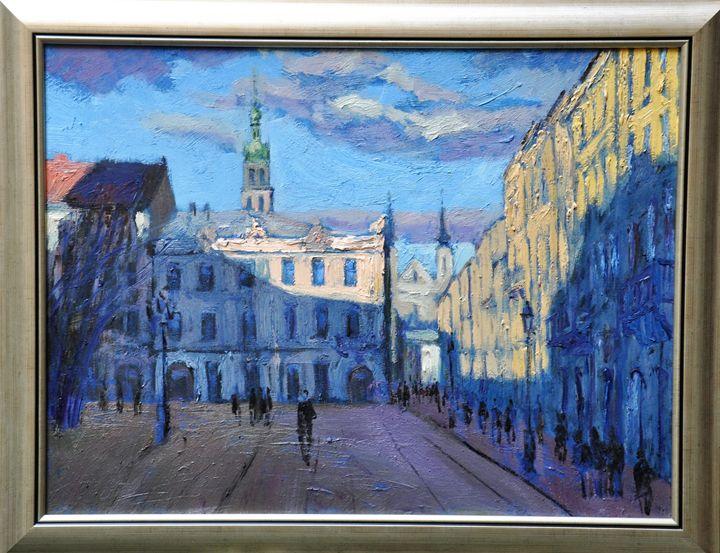 city Lviv - petro sypniak