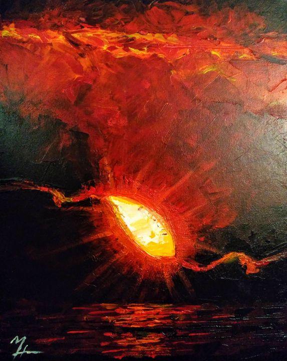 Peeking Sun - Michael Hull
