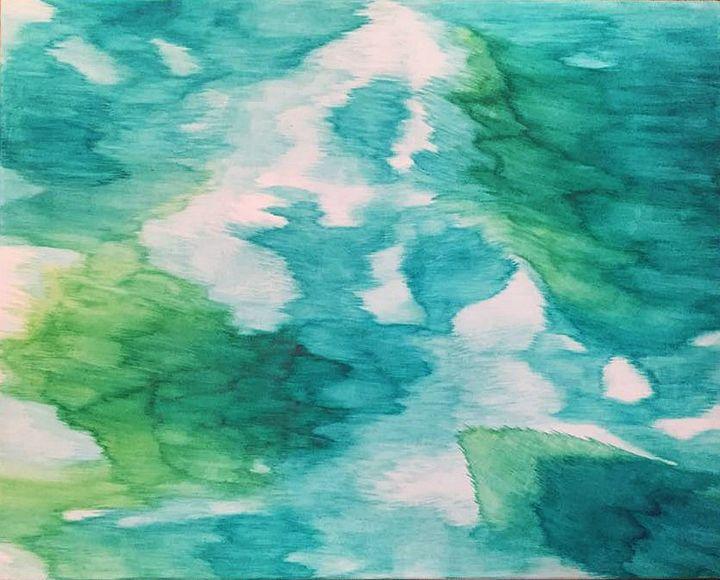The Movement on Water - Casey Jones Art