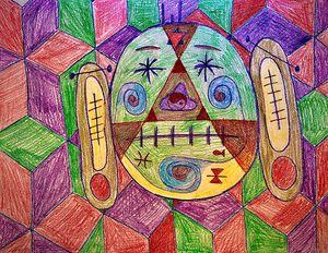 Shrunken Head - Mental Projections
