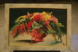 Bead Art Mosaic Picture 57x37 cm - zura