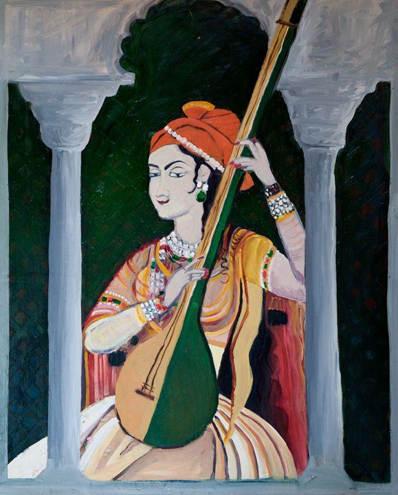 The Sitar Player - Rachel Kamali