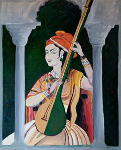 The Sitar Player