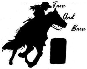 Turn and Burn Decal/Logo