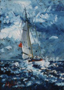 Sailing Boat - Alens Gallery