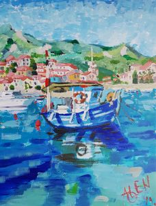 Fishing Boat - Alens Gallery