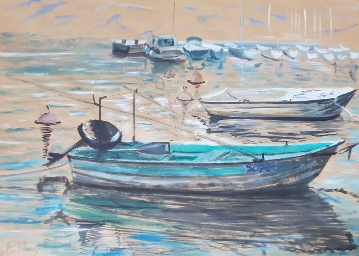 Ship Marina Vinjerac - Alens Gallery