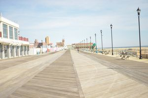 Asbury Park Boardwalk, New Jersey
