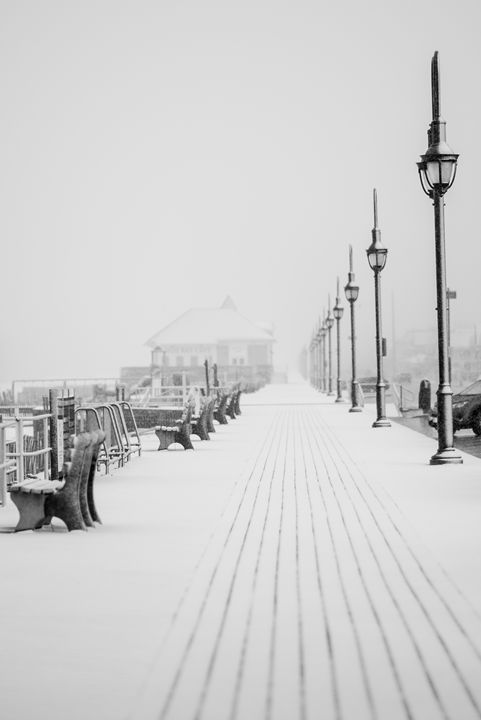 Winter In Belmar, New Jersey - Bill Baker Photography