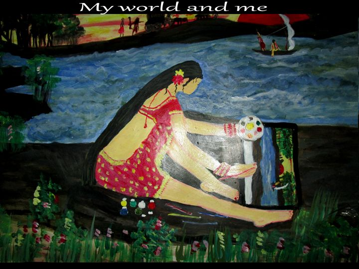 my world and me - Kamalini sahu