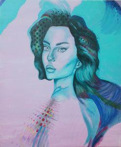Original acrilic painting