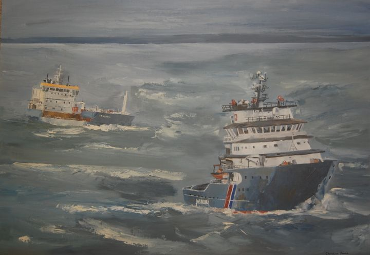 The tug boat Abeille Bourdon - Christian PRIEUR