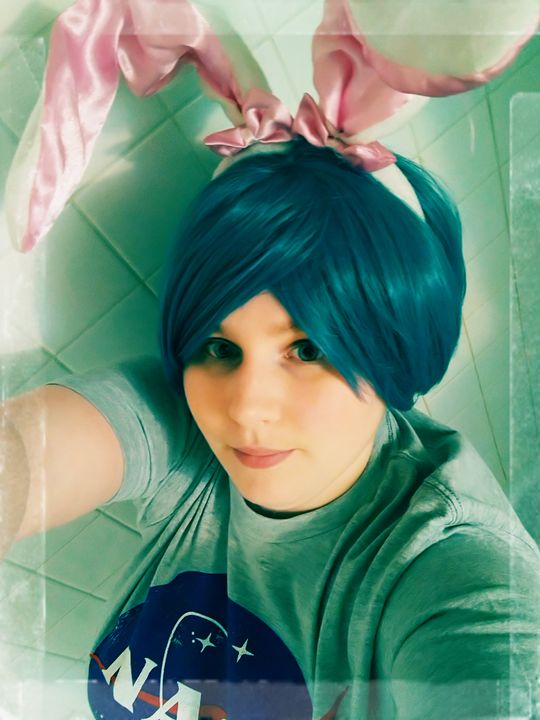 Earth Chan happy easter - Queenroadkill Cosplay and Art