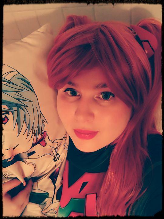 Asuka Langley cosplay - Queenroadkill Cosplay and Art