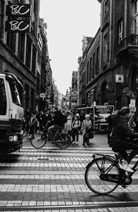 Busy Amsterdam