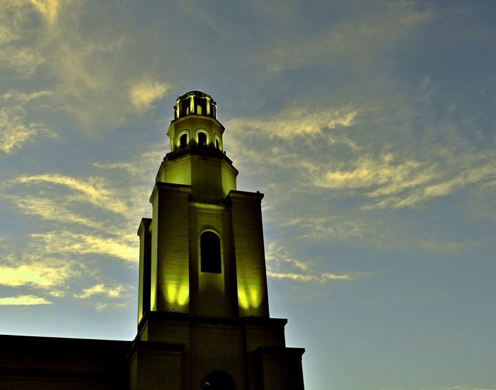 The Lighted tower - Robert Brown Photography