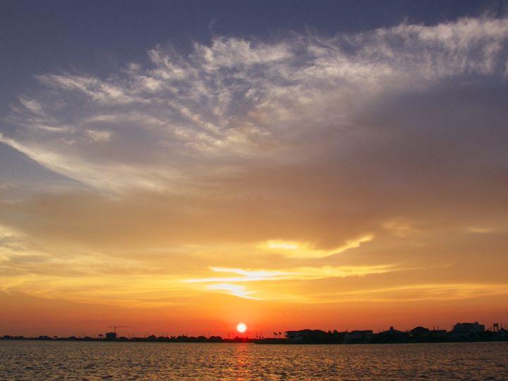 The setting sun - Robert Brown Photography