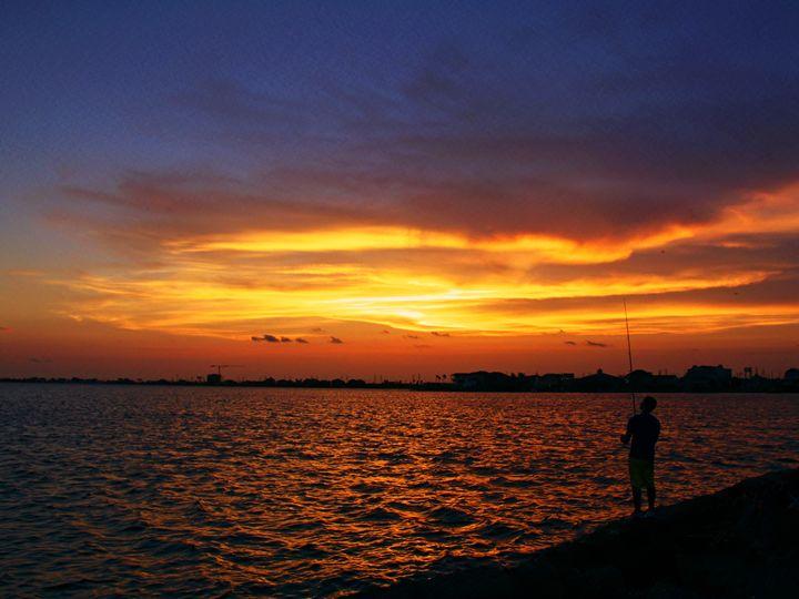 Night fishing - Robert Brown Photography