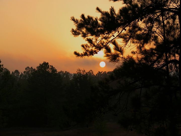 Sunrise over Nacogdoches - Robert Brown Photography