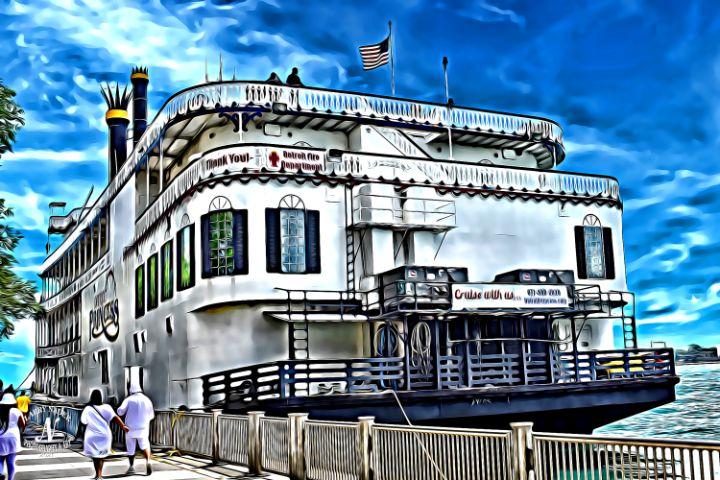 Detroit Princess Riverboat #1 - Larry Nader Photography & Art