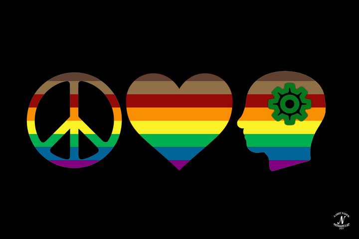 Peace, Love & Understanding - Larry Nader Photography & Art