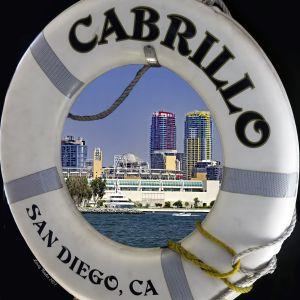 San Diego Skyline From Ferry
