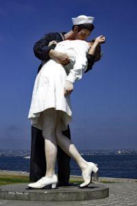 Unconditional Surrender Statue