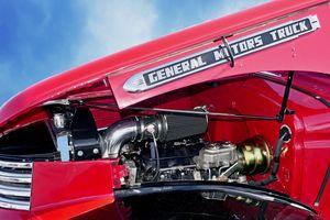 1947 GMC EC102 in Pimpernel Scarlet