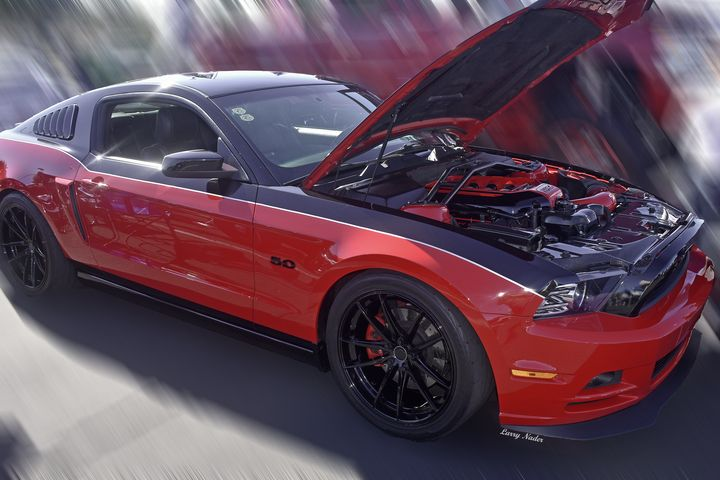 2014 Ford Mustang Fastback - Larry Nader Photography & Art
