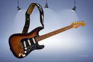 SRV Fender Stratocaster - Larry Nader Photography & Art