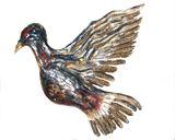 2 Dimensional Carved Dove