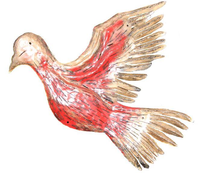 """ Light Fitting Dove"" - Amohjay Creations"
