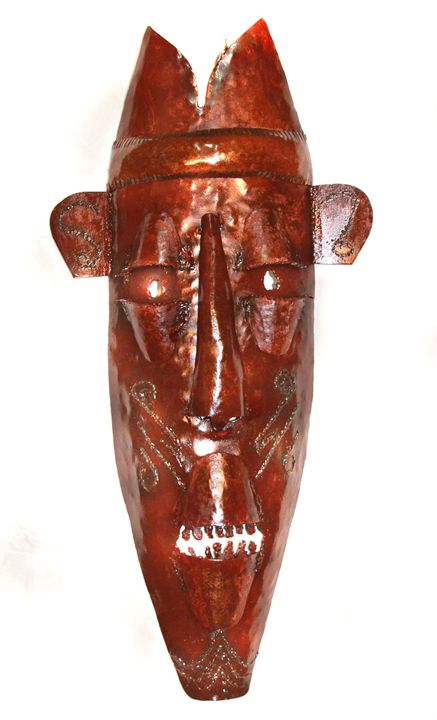 African Mask - Amohjay Creations