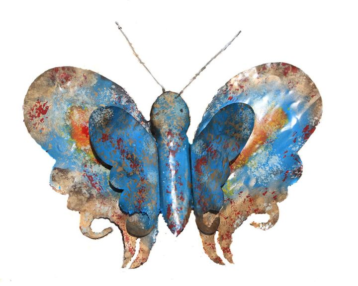 Hand made metal Butterfly - Amohjay Creations