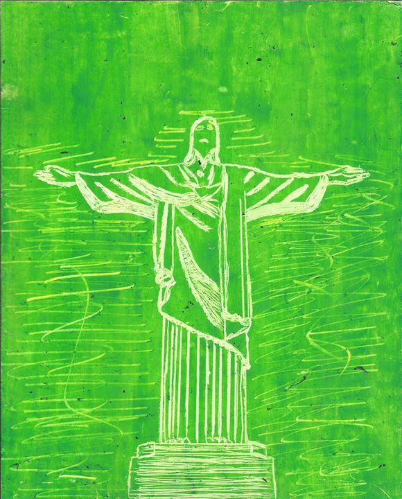 Christ the Redeemer, Rio, Brazil - Jakub Farmas Artwork