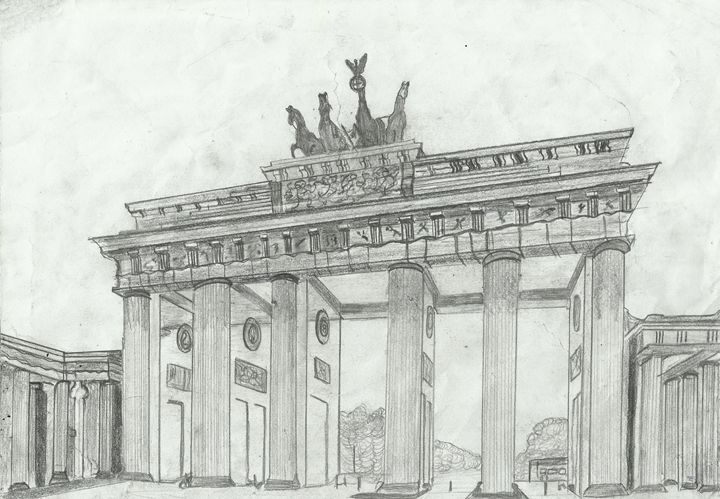 Brandenburg Gate, Berlin, Germany - Jakub Farmas Artwork