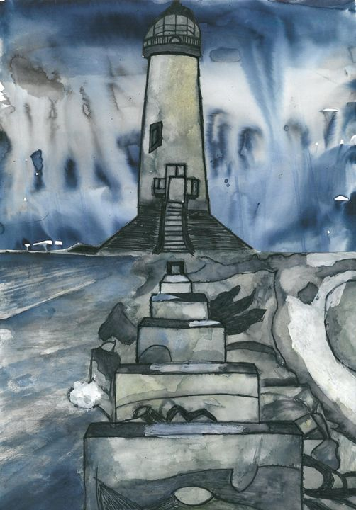 Lighthouse Storm - Jakub Farmas Artwork