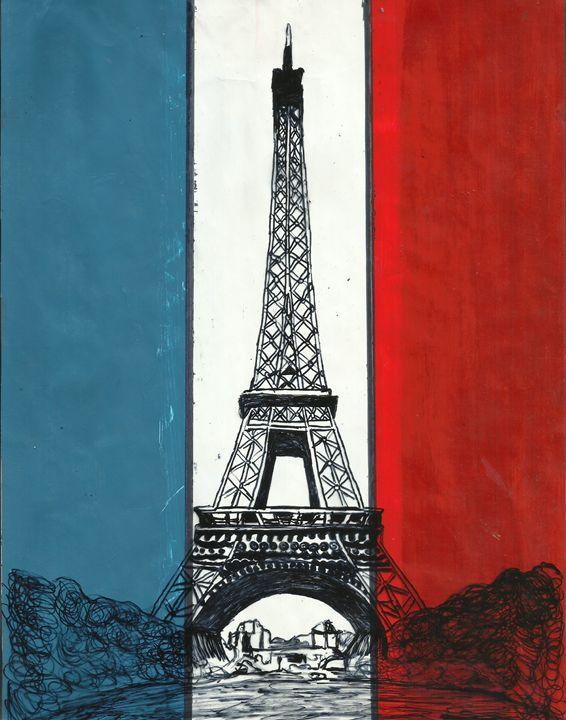 Eiffel Tower, France, Paris - Jakub Farmas Artwork
