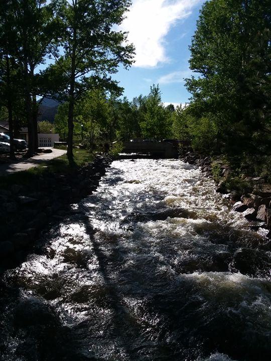 Running River (Estes Park,Colorado - Aw's  Art