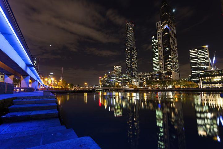 Night at Melbourne - Maxwell Jordan