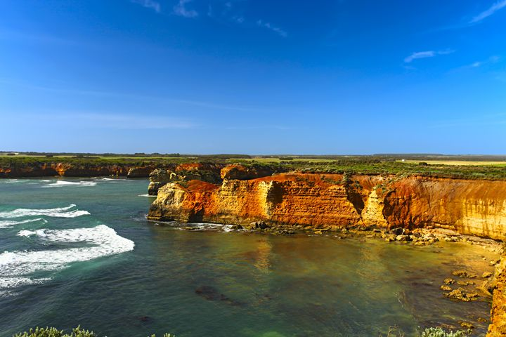 Limestone Cliffs - Maxwell Jordan