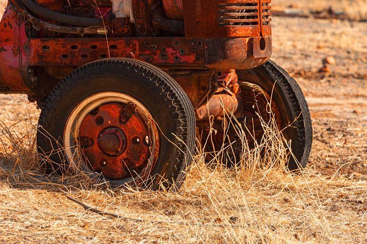 Rusty Tractor - Maxwell Jordan