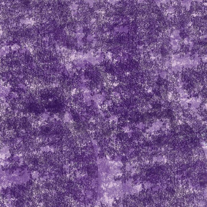Through the cracks-purple. - LaConnieCreations