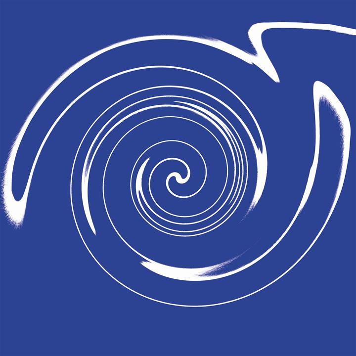Swirly Circle - LaConnieCreations
