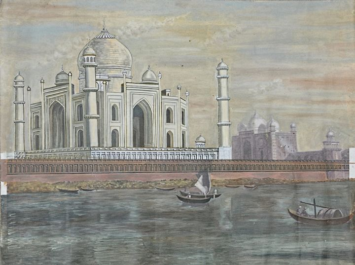 Taj Mahal - Poduri Unique arts