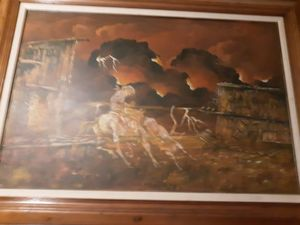 Cecil R Young Jr Painting